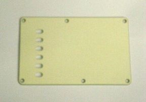 Tremolo Backplate 3-ply Mint Green 8210MG